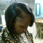 Natural Quickweave w/Bob Cut