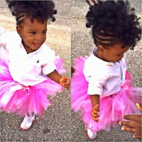 Astounding Little Girl Natural Mohawk Shared By Mikye Black Hair Information Natural Hairstyles Runnerswayorg