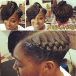Ridges With A Goddess Braid – Interesting Style Shared By Tomeka