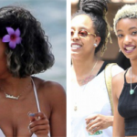 Star Sightings: Teyana Taylor In Maui With Blonde Highlights And Willow With A Blonde TWA