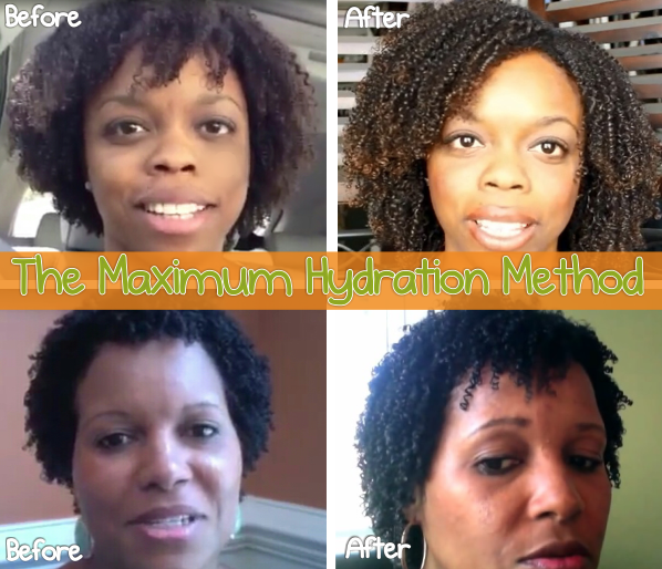 The Maximum Hydration Method - Ultra Defined Wash And Go's For All Hair Types