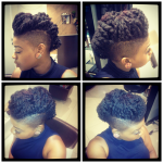 Twist-Out Mohawk Shared By Keisha