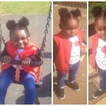Cute Little girl Afro Puffs Shared By Carol