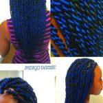 Indigo Senegalese Twists Shared By Kurlene