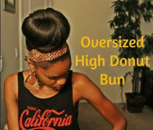 How To Make An Oversized Bun Using Clip in Extentions