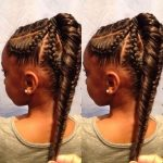 Fishtail Braid Kids Hairstyle