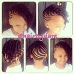 Cornrow And Twists Updo Combo Style – @hairbydare