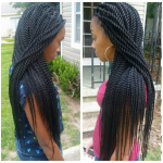 Rope twists by @braidsbyguvia