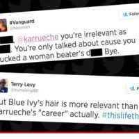 Karrueche Tran Disses Blue Ivy's Hair On 106 & Park And The Beehive Is Pissed