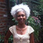 Gorgeous Grey Afro Puff Shared By Michelle Thompson