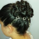 elegant updo shared by Dora Hailey