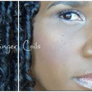 How To Do Finger Coils (Heatless Curls)
