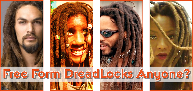Free form dreadlocks anyone