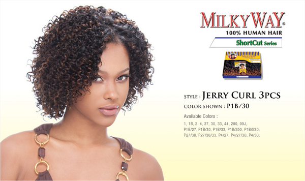 Milky Way Jerry Curl