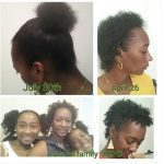 three months after the big chop shared by Shawn Dominguez