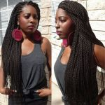 Ghana weaving with Senegalese twists @braidsbyguvia