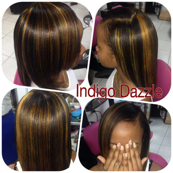 Honey Blonde Highligths And Low Lights Shared By Indigo Dazzle