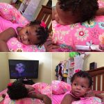 Finger coils On 16 Month Old Allie – Shared By Briana