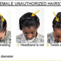 Update: Military Revises Hairstyle Rules