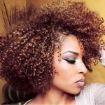 Stunning curls, lush color