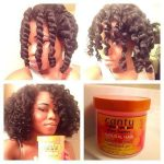 Chunky Twist Out With Cantu Twist And Lock Gel