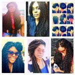 Jumbo Twists And Updo Shared By LaRhonda Norman