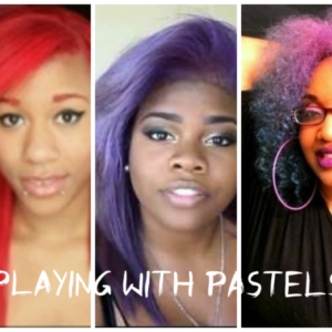 Three YouTubers Who Are Not Afraid To Rock Pastel Colored Hair