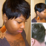 "Illusion cut quickweave shared by Arbreannia ""HairMaster Bre"""