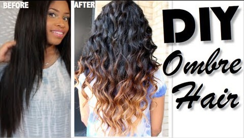 How to diy ombre your hair while in a protective style solutioingenieria Gallery
