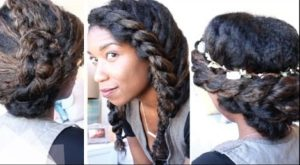 3 Cute And Chic Last Minute Natural Hairstyles