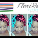 How To Install Flexi Rods On Natural Hair