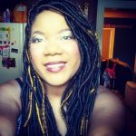 faux dreadlocks shared by India Mills