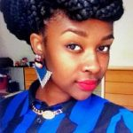 Box braids bun shared by Brandi Hodges