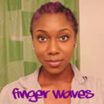 Finger Waves On Type 4 Natural Hair