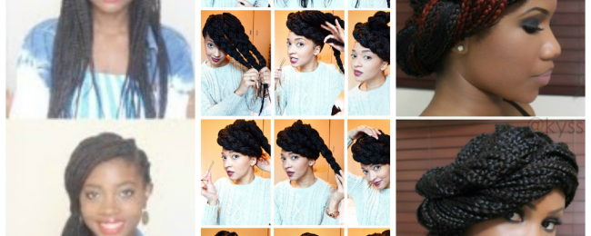 A few Options For Styling Your Box Braids