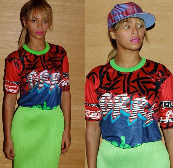 Beyonce Debuts Chopped Bangs