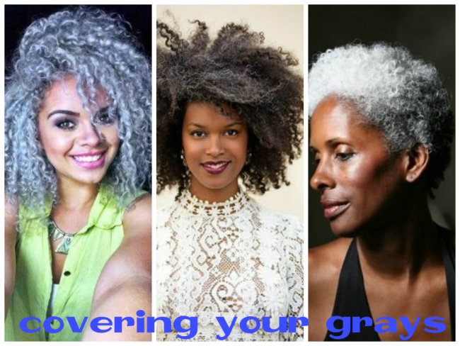 covering your grays