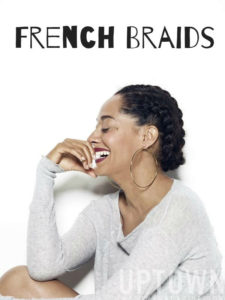 Stretch Your Hair Using French Braids