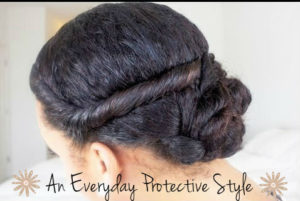 An Easy Everyday Protective Style