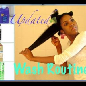 Two Easy Wash Day Routines You Can Try For Your Long Natural Hair
