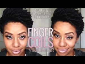 How To Do Finger Coils On 4C Natural Hair