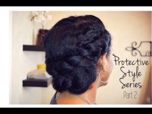 Double Twists And Tuck Updo