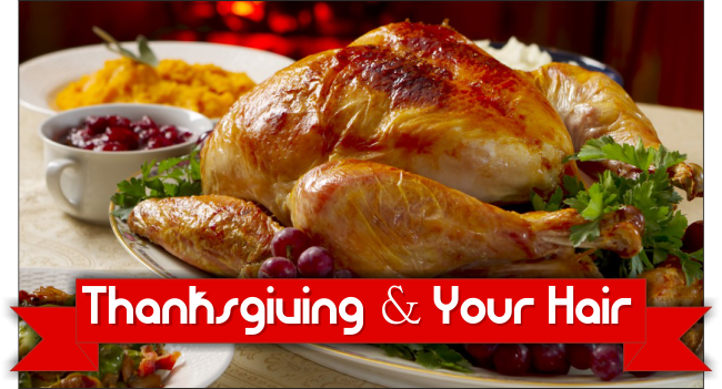 5 Thanksgiving Foods That Can Help Create Healthy Hair