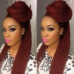 Red Senegalese Twists