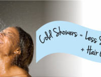 Cold Showers Can Help To Reduce Hair Shedding And Increase Hair Growth