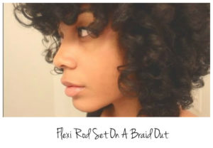 How To Do A Flexi Rod Set On An Old Braid Out