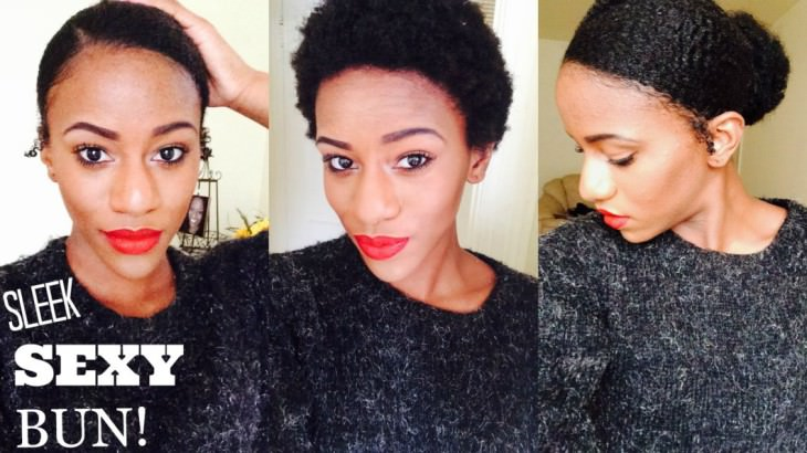 How To Create A Faux Bun On A TWA