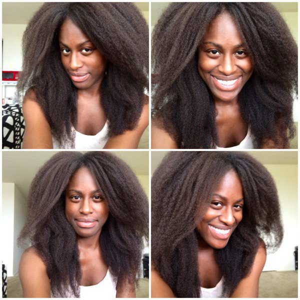 Blowout On Natural Hair Shared By Kami - Black Hair ...