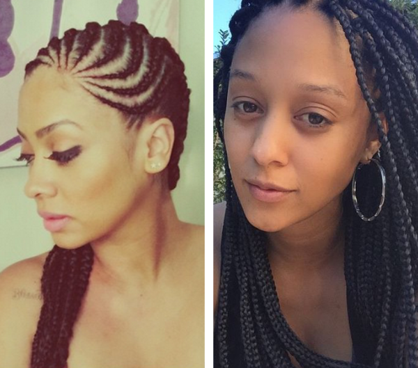 La La Anthony And Tia Mowry Rock Braids And We Love Them