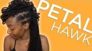 Styling Your Locs The Petal-Hawk Style